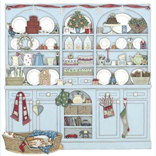Sally Swannell - Christmas Dresser