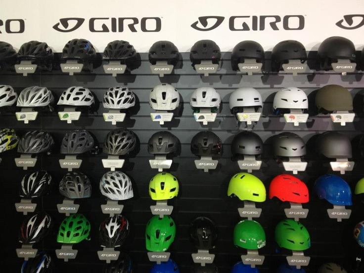 And more #Giro helmets!
