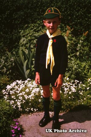 A Cub Scout 1950s