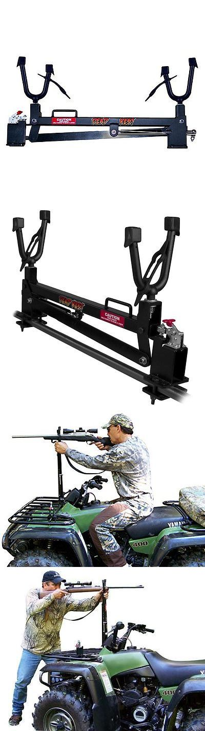 Racks 73961: Mountain Mikes Dead Rest Atv Gun / Rifle Rack And Shooting Rest BUY IT NOW ONLY: $37.0