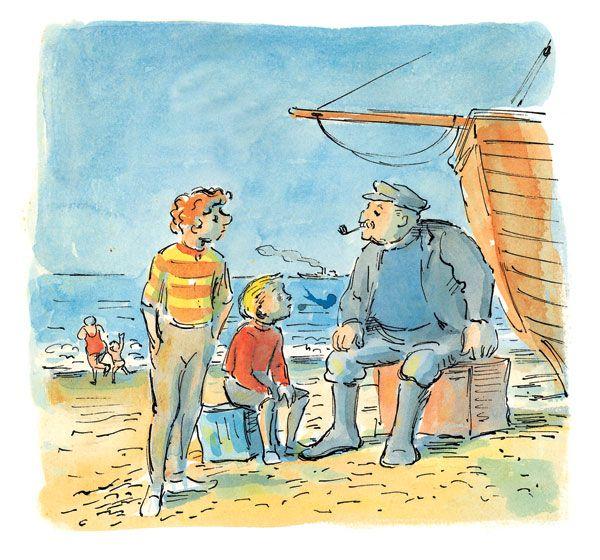 Edward Ardizzone - The Old Boatman