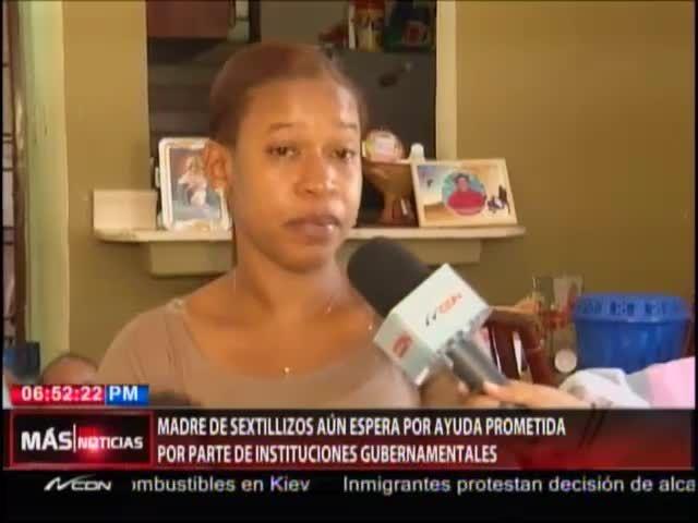 Madre Que Dió A Luz A Sextillizos Dice Que Aún Está En Espera De La Ayuda Que El Gobierno Le Prometió #Video