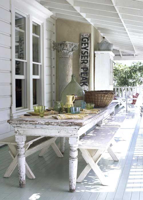 Porch decor...