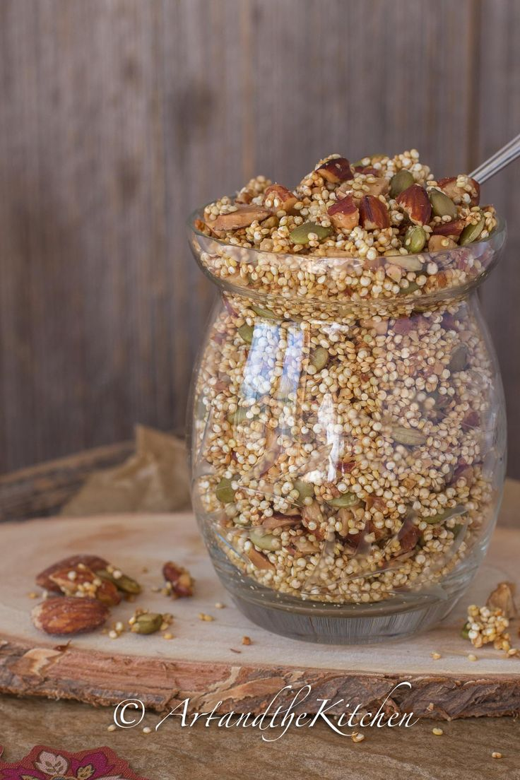 This healthy homemade Quinoa Crunch Cereal is a recipe that is packed with flavour and nutrition.