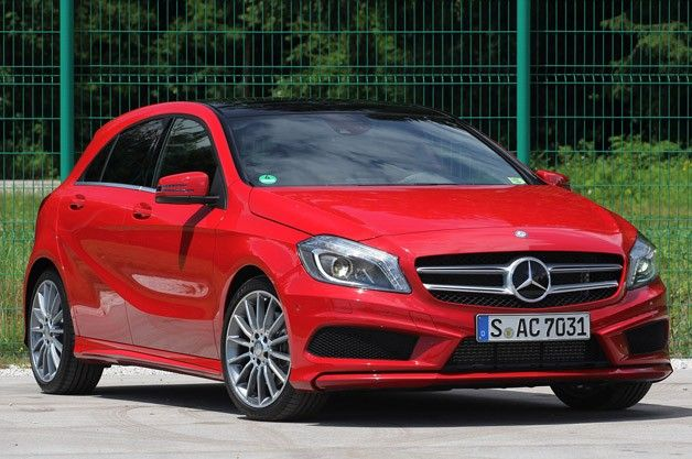 Who says hatchbacks can't look good.... 2012 Mercedes A-Class