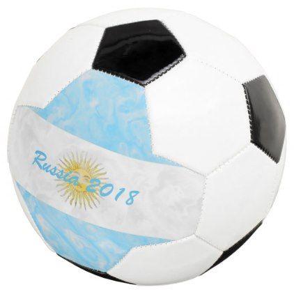 Personalized Argentinian Flag Design Soccer Ball  $59.32  by biglnet  - cyo customize personalize diy idea