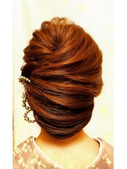 エフプラス hairmake&nail F PLUS!【F PLUS!】ネープシニヨン