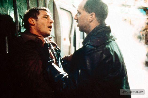 "Blade Runner - Leon & Deckard ""My birthday's April 10, 2017, how long do I live?""  ""Four years."""