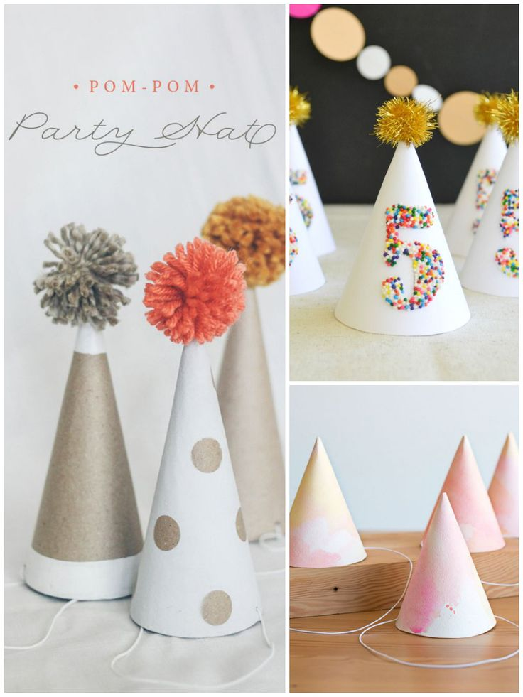 Gorros de fiesta y coronas de princesa DIY - All Lovely Party