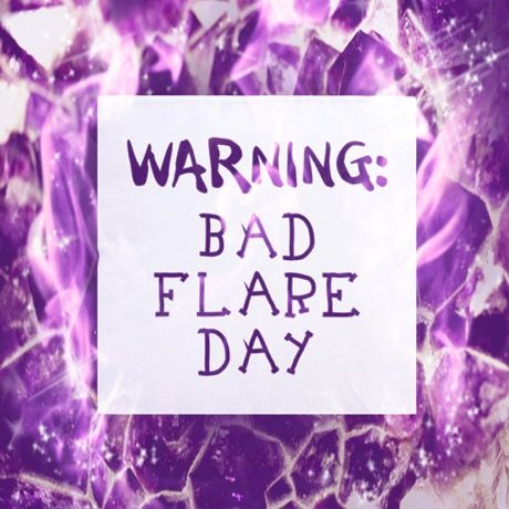 Fibro Flare Day in Progress. But when I have good days I use them wisely.