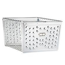 Large Industrial Sheet-Metal Basket