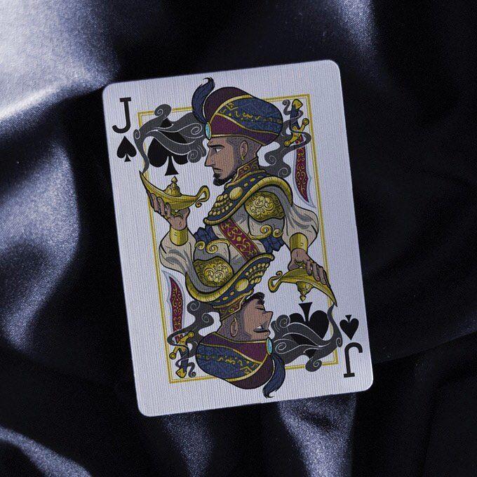 ✨✨✨ 3 Days Left!✨✨✨ Check out the Jinni Playing Card Kickstarter link in my bio for more.  #kickstarter #fullyfunded #100percent #playingcards #aladdin #jimmyfallon #danwhite #ericjones #bobbymotta #ricodelavega #danielmadison #jinn #genie #magic #cardistry #cardcollector #heart #diamond #club #spades  #king #queen #jack #1001nights #arabiannights #jasmine http://misstagram.com/ipost/1566539080098163444/?code=BW9dv5UBKr0