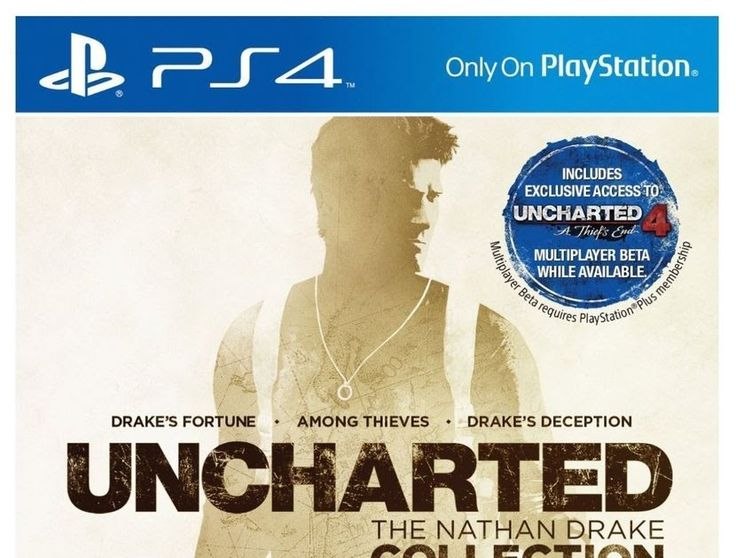 Uncharted: The Nathan Drake Collection New Never Open (Sony PlayStation 4 2015)