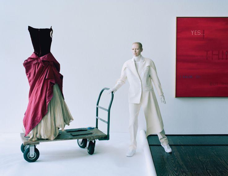 Tilda Swinton, Lady Amanda Harlech by Tim Walker for W Magazine December 2014