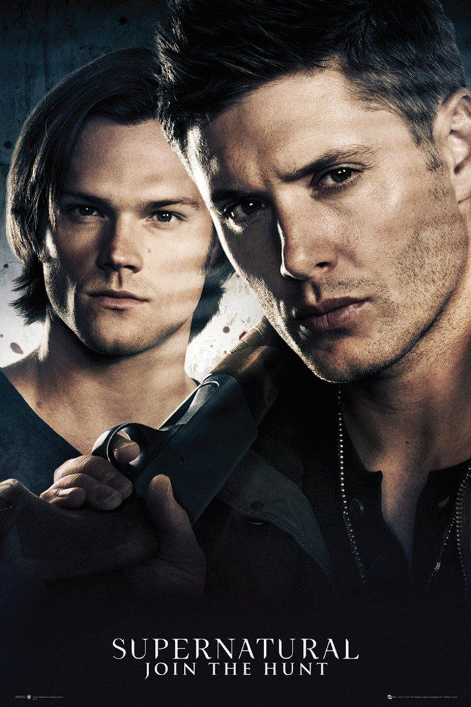 Supernatural Brothers - Official Poster. Official Merchandise. Size: 61cm x 91.5cm. FREE SHIPPING