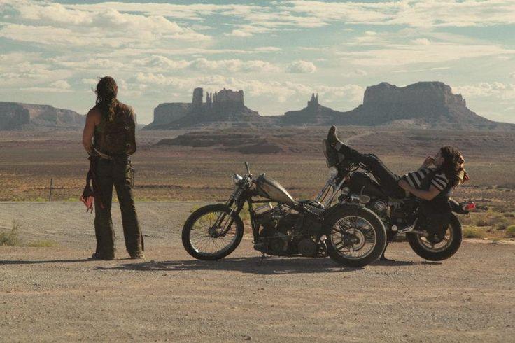"jason momoa & lisa bonet in ""Road to Paloma"""