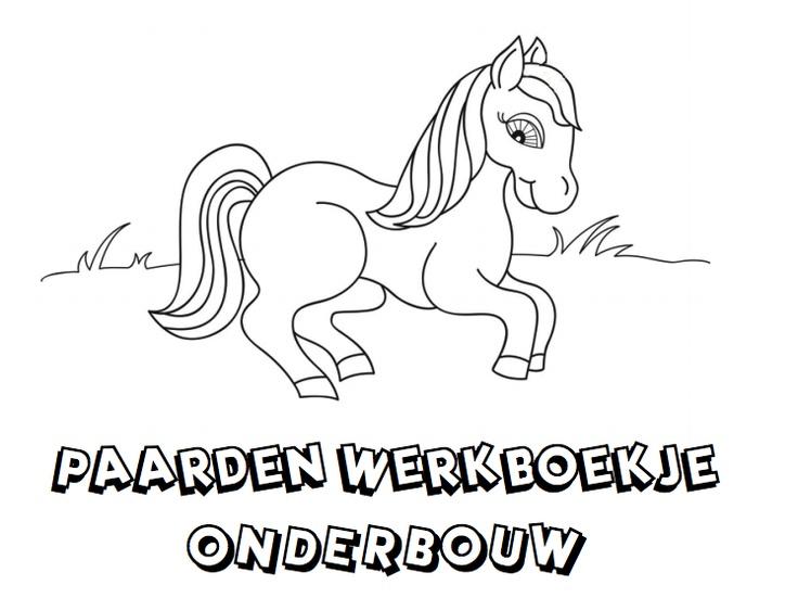 Paardenwerkboekje Onderbouw