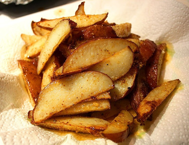 Parmesan Potato Wedges | Recipes I think I need to try... | Pinterest