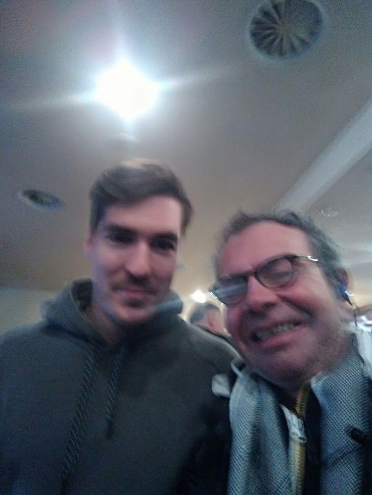 Dario Bürgler ed io !!!