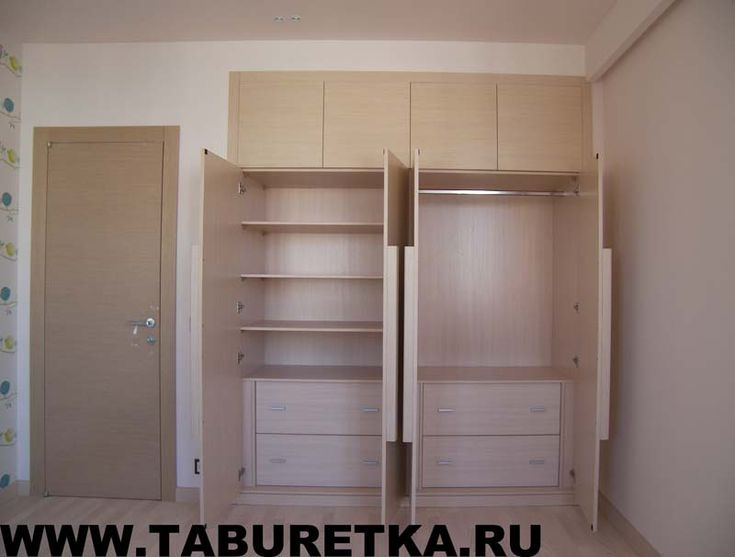 Основные секции шкафа