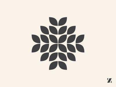 Floral logo by Jan Zabransky - Dribbble