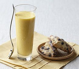 MyPanera Recipe: A Coconut Mango SmoothiePanera Breads Smoothie Recipe, Mango Smoothie, Blueberries Scones, Breads Minis, Panera Recipe, Coconut Mango, Minis Wild, Perfect Garnish, Mint Sprigs