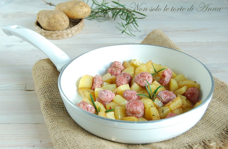 Salsicce+e+patate+in+padella