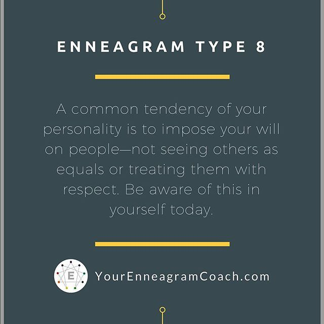 Dating enneagram type 8