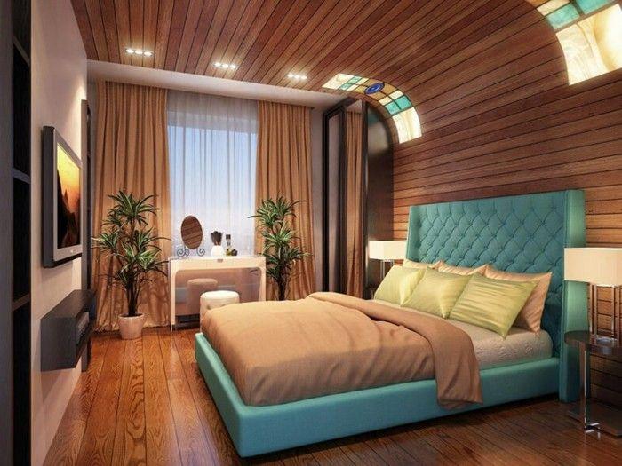 Les 25 meilleures id es concernant rideaux chambre for Chambre a coucher bleu turquoise