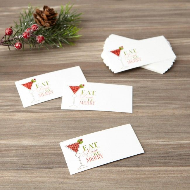 Let your guests know where to sit at your big holiday dinner this year with these Abbot Namecards.    Whether you're looking for stocking stuffers, Secret Santa presents, festive Christmas decor or even gift cards, we have a huge selection of unique holiday stuff to make your days and nights merry and bright.
