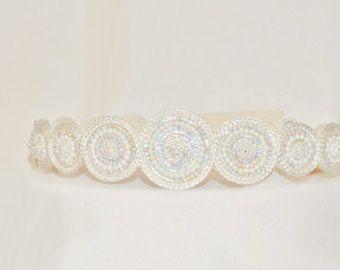Belle marocaine or et argent ceinture robe caftan par LeidaMaiden