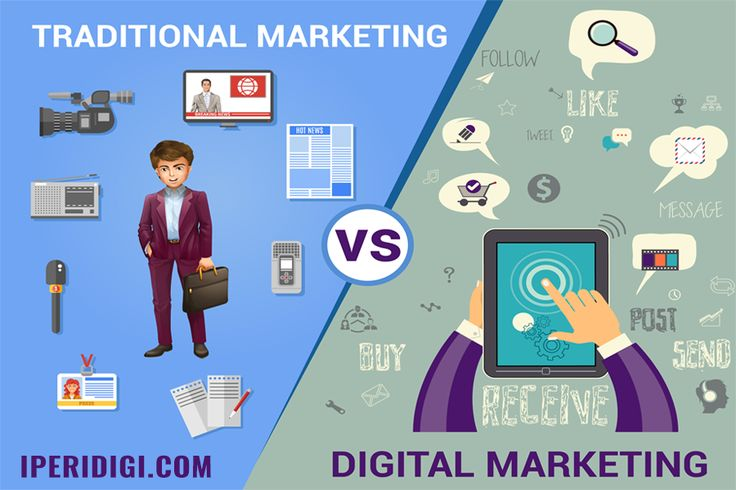 Traditional marketing is one-to-many.  SEO / Digital marketing is one-to-many-to-many more. goo.gl/nJ5jw4