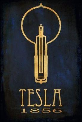 Tesla // rock star scientist posters // meganlee at etsy