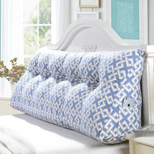 coussins d'oreiller Triangle à double tête de lit dossier rembourré coussin canapé-lit tatami lavables ( couleur : K , taille : M ): Amazon.fr: Cuisine & Maison