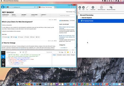 A Fast, Accurate Way to Test Internet Explorer on iOS, Mac OS X, and Android