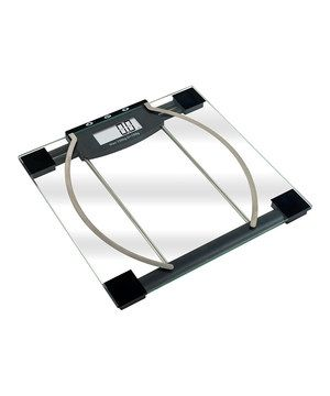 Inspire healthful changes with a sleek, smart scale that does way more than display weight. It also measures body fat and hydration by using bio-electrical impedance analysis technology! This bathroom must-have stores information for up to 10 users and boasts overload and low-battery indication as well as an LCD readout that displays weight in pounds, kilograms or stones.