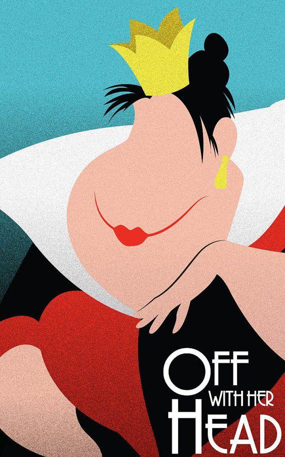 Queen of Hearts Alice in Wonderland / Disney by FADEGrafix