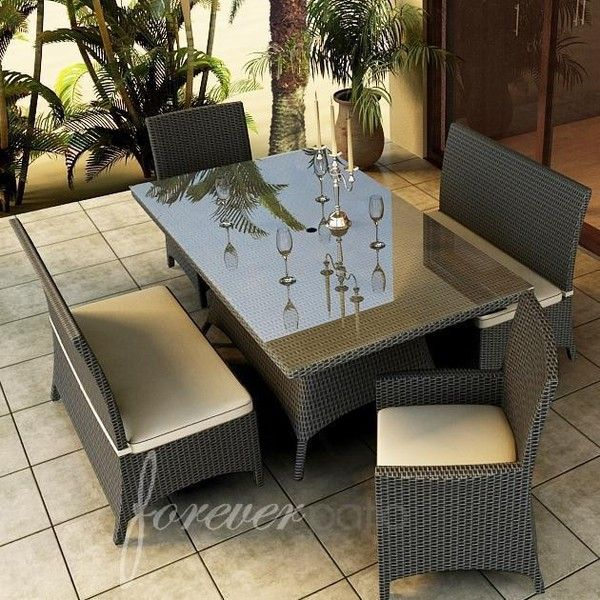 Outdoor Dining Patio Furniture best 25+ resin wicker patio furniture ideas only on pinterest