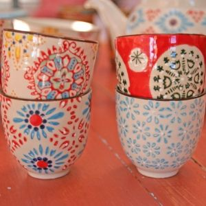 Set of 4 Bohemia Expresso Cups - Click to enlarge