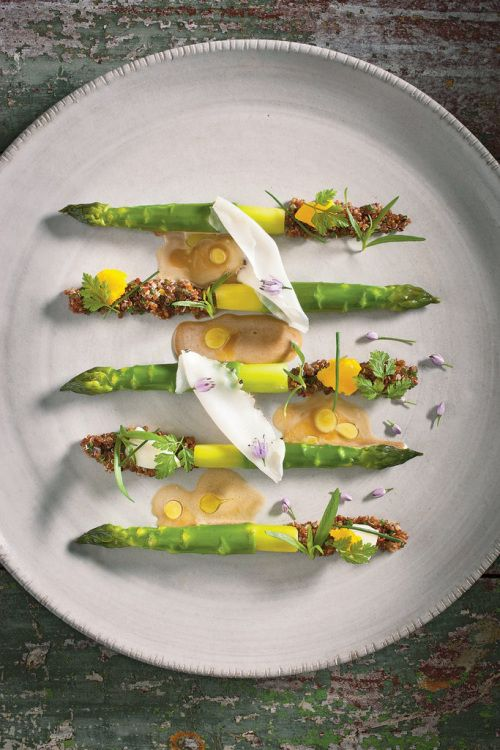 I am a so so cook but there is nothing more appealing to me than a well composed plate of food. This post is dedicated to the many ways well known cooks present a dish. I'd leave the cooking techni...