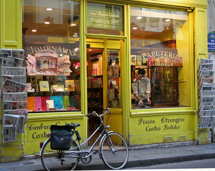 Paris paper store: I could disappear into this place for hours.