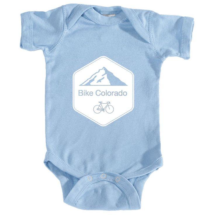 Colorado Mountain Bike - Infant Onesie/Bodysuit