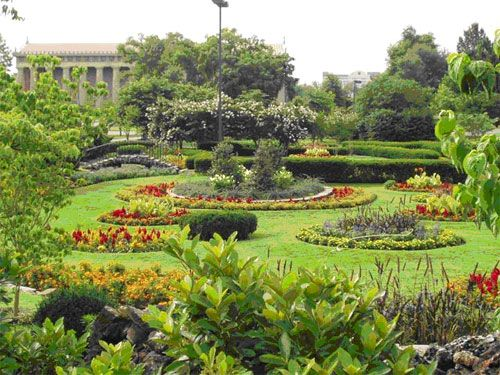 Centennial Park in Nashville - one of my favorite places. I went there with my family when I was a child, took my children there and married the love of my life in this garden