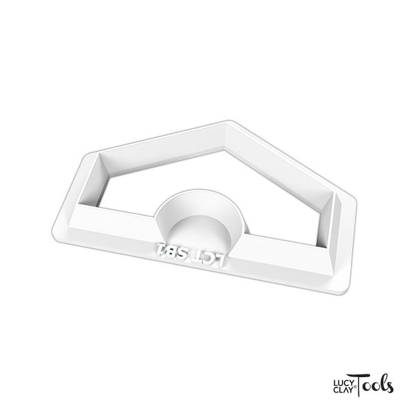 LC Cutter 1541 | Order at LC Store EU http://www.lucyclaystore.com/en/70-lcc-sets l LC Store USA http://www.lucyclaystore.com/usa/69-lcc-sets | Inspiration https://issuu.com/lctools/stacks/4863266ed37549ee85adbac06ff1ed7d