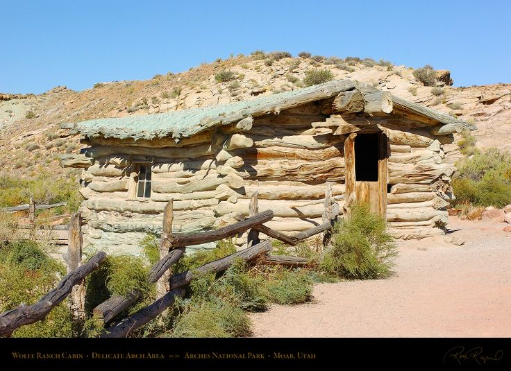 wolfe ranch homestead arches national park turnbow