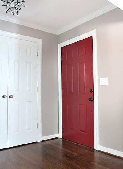 doors red doors red front door paint color the front painting doors. Black Bedroom Furniture Sets. Home Design Ideas