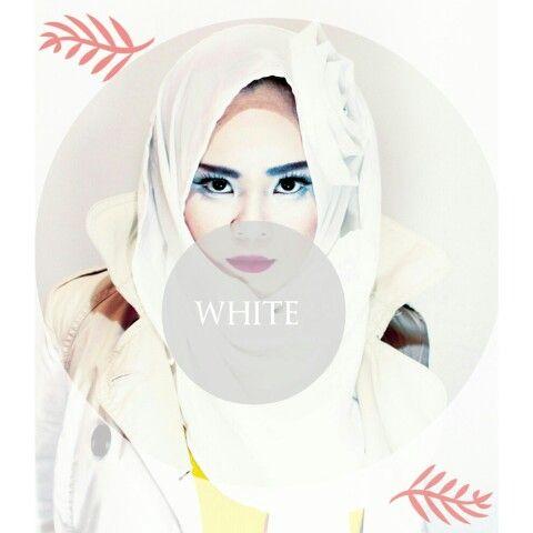White Jilbab