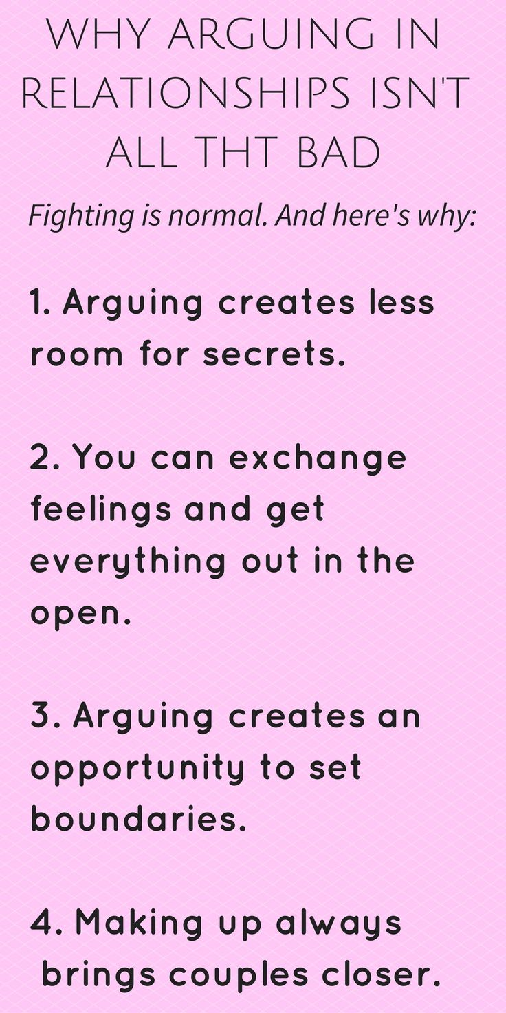 true love relationship rules for arguing