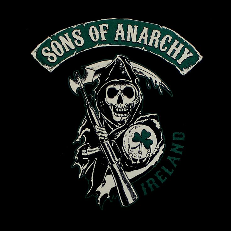 BikerOrNot Store - Sons of Anarchy - Ireland, $19.97 (http://store.bikerornot.com/sons-of-anarchy-ireland/)