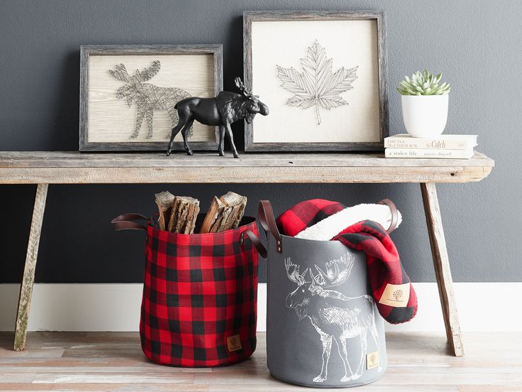 Our new canadiana fall collection represents the best of the cozy season in lush blankets and rustic décor essentials